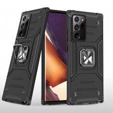 Akcija! Samsung Galaxy Note 20 Ultra dėklas Wozinsky Ring Armor juodas