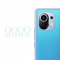 Akcija! Xiaomi Mi 11 kameros apsauga 4 vnt. 3MK lens protection