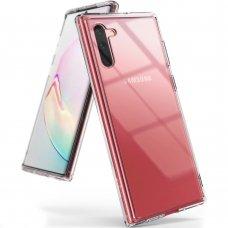 AKCIJA! Samsung Galaxy Note 10 dėklas Ringke Fusion TPU Bumper skaidrus