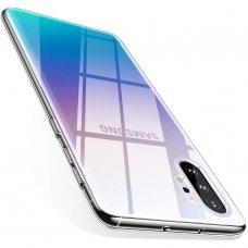 Akcija! Samsung galaxy note 10 plus dėklas MERCURY JELLY SOFT silikoninis skaidrus