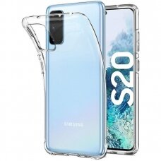 Samsung Galaxy S20 dėklas ULTRA CLEAR 0,5MM skaidrus