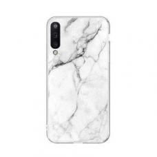 Samsung Galaxy A50 nugarėlė Wozinsky Marble TPU baltas
