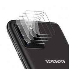 Akcija! Samsung Galaxy S20 ultra kameros apsauga 4 vnt. 3MK lens protection