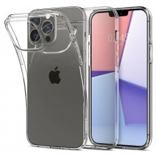 Akcija! Iphone 13 Pro dėklas Spigen Liquid Crystal TPU skaidrus