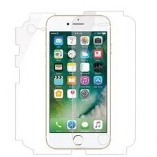 Akcija! iPhone 7 apsauginės silikoninės plėvelės Beeyo 360 Full body film 2 Pilnai dengiančios LCD+Galinį dangtelį