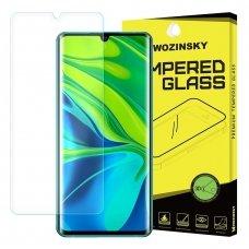 """Akcija! xiaomi mi note 10 / mi note 10 pro plėvelė ekrano apsauga """"Wozinsky 3D Screen Protector Film """"  skaidri"""
