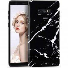 Akcija! Samsung Note 9 Wozinsky Marble TPU Juodas