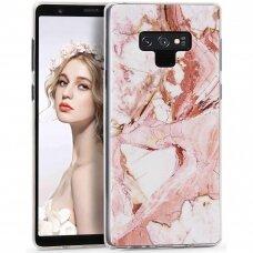 Akcija! Samsung Note 9 Wozinsky Marble TPU Rožinis