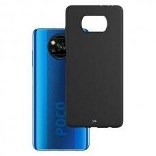 Akcija! Xiaomi Poco X3 NFC dėklas 3MK Matt TPU juodas