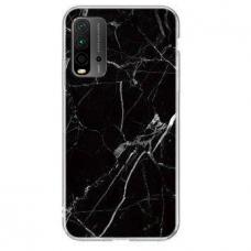 Akcija! Xiaomi Redmi 9T / Poco M3  Wozinsky Marble TPU juodas