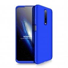 Akcija! Xiaomi redmi K30 HURTEL dėklas dvipusis 360 plastikas mėlynas
