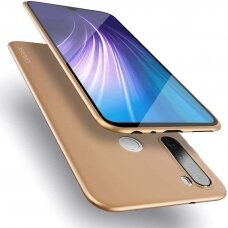 Akcija! Xiaomi redmi note 8 dėklas X-LEVEL GUARDIAN silikonas auksinis