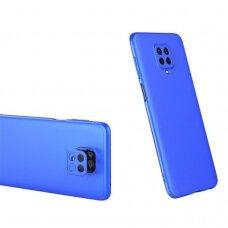Akcija! Xiaomi Redmi Note 9 visapusis apsauginis dėklas GKK 360 mėlynas
