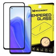 Akcija! Xiaomi mi 10T / 10T pro apsauginis grūdintas stiklas Wozinsky Full Glue juodais kraštais