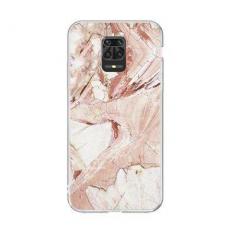 Akcija! Xiaomi Redmi note 9s / 9 pro  Wozinsky Marble TPU rožinis
