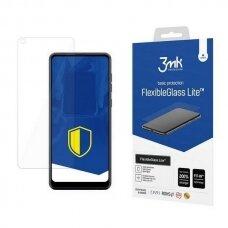 akcija! Samsung A21s LCD apsauginis stikliukas 3MK Flexible Glass Lite