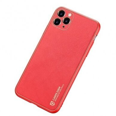 Akcija! Iphone 12 pro max dėklas Dux Ducis Yolo raudonas 2