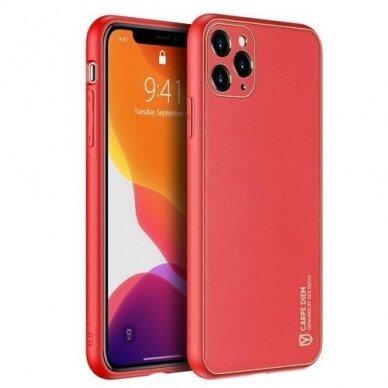 Akcija! Iphone 12 pro max dėklas Dux Ducis Yolo raudonas