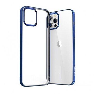 akcija! Iphone 12 pro max dėklas Joyroom New Beautiful mėlynais kraštais