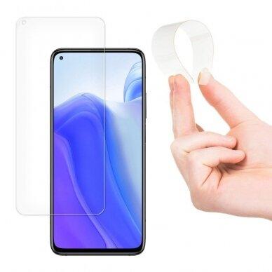 Akcija! Xiaomi Mi 10T lite GRŪDINTO STIKLO EKRANO APSAUGA Wozinsky Nano Flexible Glass