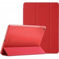 Apple iPad 10.2 2019 atverčiamas dėklas Smart Soft  raudonas