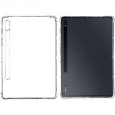 Samsung T870 / T875 Tab S7 11 Dėklas High Clear Antishock Skaidrus
