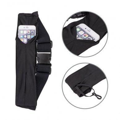 Dėklas ant juosmens Elastic Sport Case juodas (2 dizainai) 5