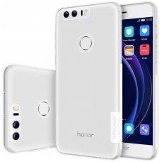 Huawei honor 8 DĖKLAS NILLKIN NATURE 0.6MM TPU permatomas skaidrus