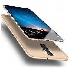 Huawei mate 10 lite dėklas X-LEVEL GUARDIAN silikonas aukso spalvos