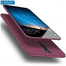 Huawei mate 10 lite dėklas X-LEVEL GUARDIAN silikonas bordo