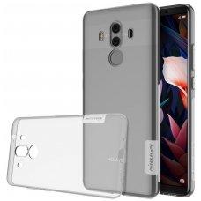 Huawei MATE 10 pro dėklas Nillkin Nature permatomas 0,6 mm TPU
