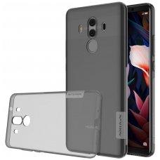 Huawei MATE 10 pro dėklas Nillkin Nature permatomas pilkas 0,6 mm TPU