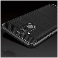 Huawei mate 20 lite dėklas forcell carbon juodas