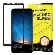 Akcija! Huawei Mate10 lite ekrano Apsauginis grūdintas stikliukas Wozinsky Tempered Glass Full Glue juodais kraštais