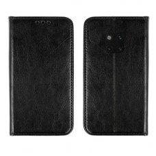 Huawei mate 20 pro atverčiamas dėklas BOOK SPECIAL tikra oda juodas