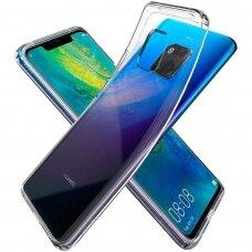 Huawei mate 20 pro dėklas X-LEVEL Antislip silikonas permatomas