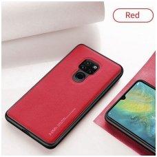 """Huawei mate 20 pro dėklas x-level """"Exquisite"""" TPU IR VELIŪRAS raudonas"""