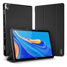 """Huawei MediaPad M6 10.0  atverčiamas dėklas """"Dux Ducis Domo"""" juodas"""