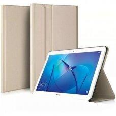 Huawei MediaPad T5 10.0 atverčiamas dėklas Folio Cove auksinis