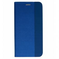 Huawei P smart 2019 atverčiamas dėklas Vennus SENSITIVE book mėlynas