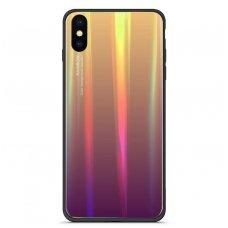 """Huawei honor 10 lite  Dėklas """"Aurora"""" violetinis"""