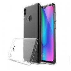 Huawei P Smart 2019 dėklas Ultra Slim 0.3mm silikoninis permatomas