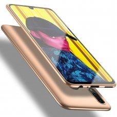 Akcija! Huawei p smart 2019 dėklas X-LEVEL GUARDIAN silikonas auksinis