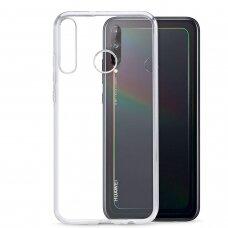 Akcija! Huawei P40 lite e originalus huawei flexible case skaidrus