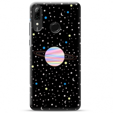 "Huawei P Smart 2019 TPU dėklas unikaliu dizainu 1.0 mm ""u-case Airskin Planet design"""