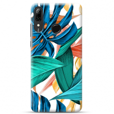 "Huawei P Smart 2019 TPU dėklas unikaliu dizainu 1.0 mm ""u-case Airskin Leaves 1 design"""