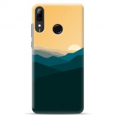 "Huawei P Smart 2019 TPU dėklas unikaliu dizainu 1.0 mm ""u-case Airskin Mountains 2 design"""