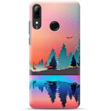 "Huawei P Smart 2019 TPU dėklas unikaliu dizainu 1.0 mm ""u-case Airskin Nature 5 design"""