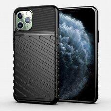 iphone 11 pro max dėklas THUNDER SILICON TPU juodas