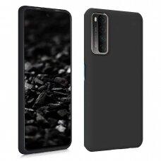 Huawei P Smart 2021 dėklas FOSCA CASE silikonas juodas
